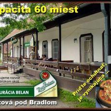 Reštaurácia Belan Brezová pod Bradlom - denné menu, pizzeria - Reštaurácia Belan