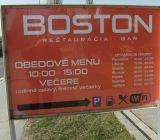 Reštaurácia Boston Senica denné menu