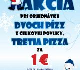 Pizza Piano u Jurka Zvolen denné menu