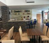interiér Reštaurácie na plavárni Myjava