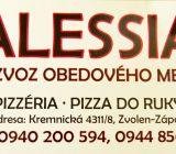 Alessia Zvolen denné obedové menu