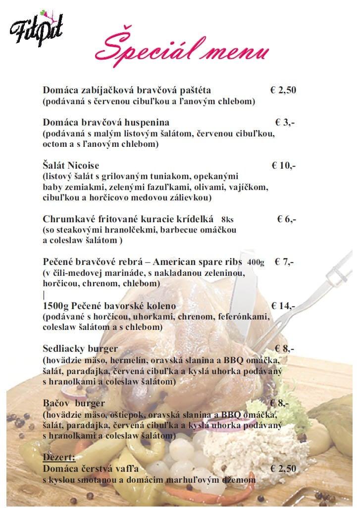 820dab37a1 Denné obedové menu a reštaurácie na Slovensku